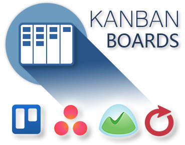 Kanban Boards Supported for Trello, Asana, Basecamp and AceProject