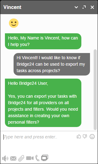 New Interface for Bridge24 Released - Improving Usage3