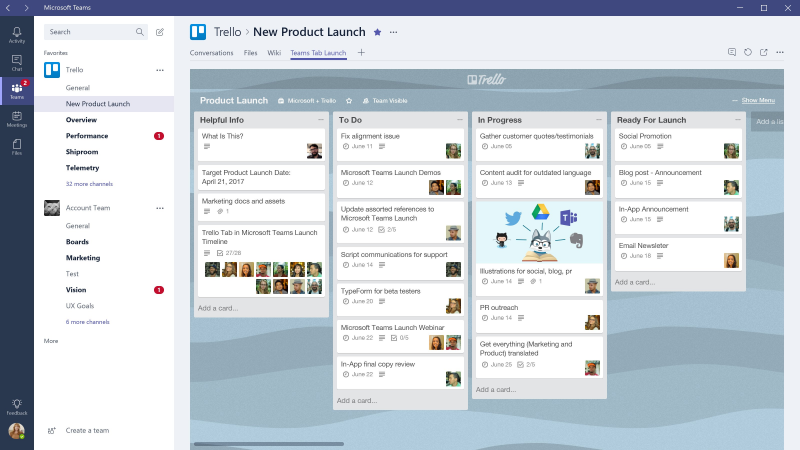asana trello ms-teams integration 4